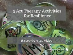 Art therapy activities that link a negative experience with a beneficial experience boost resilience and make it easier to recover from difficulties. Here are three art therapy activities in a step-by-step video designed to provide this kind of helpful linkage experience. I've had some fun being creative and coming up with new ways to use …