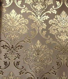 Light Gold Pattern Wallpaper