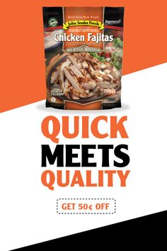 Enjoy fully-cooked chicken breast fajitas in just 10 minutes! Get $0.50 off your next purchase. Grilled Chicken Strips, Cooked Chicken, How To Cook Chicken, Keto Recipes, Snack Recipes, Healthy Recipes, Drink Recipes, Bread Recipes, Healthy Food