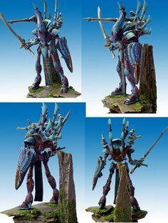 Eldar Wraithlord #40k #wh40k #warhammer40k #40000 #wh40000 #warhammer40000 #eldar #eldars #wellofeternity #gamesworkshop #miniatures #wargames #wargaming