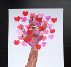 Parenting - Activities - Valentine& Crafts for Kids Toddler Valentine Crafts, Valentines Day Activities, Valentines Day Party, Valentines For Kids, Toddler Crafts, Valentine Tree, Valentine's Day Crafts For Kids, Crafts To Do, Art For Kids