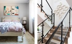 Sunset Idea House — Lauren Nelson Design Scandinavian Interior Doors, Kids Bedroom, Bedroom Wall, Stairs, Sunset, House, Furniture, Design, Home Decor