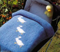 Baby Blanket Knitting Pattern Ducks : 1000+ images about RUGS - KNITTING PATTERNS on Pinterest Knitting patterns,...