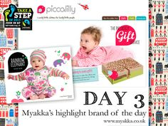 Our lovely DAY 3 Highlight Brand is Piccalilly, thank you @Hannah Evans!