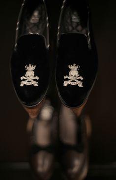 Velvet Barker Black Loafers