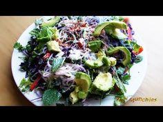 Raw Vegan Kelp Noodle Salad   Rawmunchies.org   Raw Vegan...