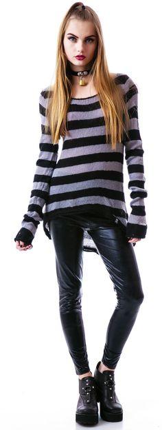 Sourpuss Clothing Lets Pogo Sweater | Dolls Kill