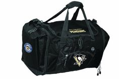 NHL Pittsburgh Penguins Roadblock Duffle Bag by Concept 1. Save 1 Off!. $27.76