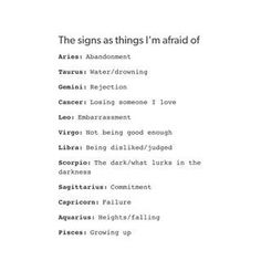 Im scared of death and the future and im partially scared of pain.... #Aquarius ♒️