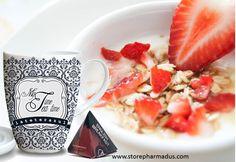 Perfecto #desayuno post-Navidad. ¡Os invitamos! ¿Quién se apunta? #breakfast #desayuno #food #mug #salud #diet #gourmet #lateterazul #pharmadus #ideasgourmet #té #ténegro #englishbreakfast