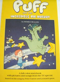Puff and the Incredible Mr. Nobody 1984 Book LoveVintageAlways