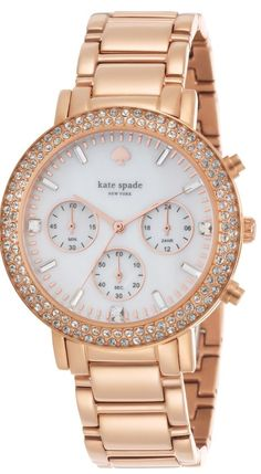 7d0de5d16ad01 Gorgeous rose gold watch by kate spade http   rstyle.me n