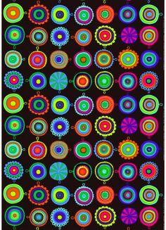 Marimekko  Product: Lappuliisa coated fabric  Pattern:Lappuliisa  Pattern Designer:Maija Louekari  Material: PVC coated cotton