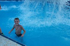 My son enjoying the pool on NCL Spirit!