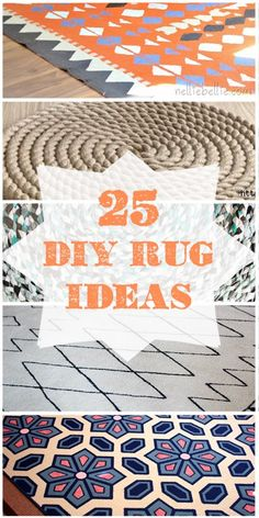 How For Making Candles In Your House - Solitary Interest Or Relatives Affair 25 Creative Ways To Get The Perfect Diy Rug For Your Home Using Paint, Dye, Rope, And Other Surprising Materials Carpet Diy, Rugs On Carpet, Cheap Carpet, Stair Carpet, Hall Carpet, Silver Grey Carpet, Home Crafts, Diy And Crafts, Rope Rug