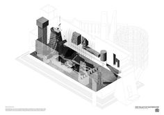 Isometric of the House of Commons, Essex | Palace of Eastminster | Kieran Thomas Wardle, 2013