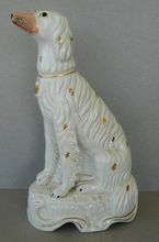 Antique Staffordshire Setter Dog