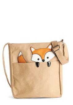 Got One Friend in My Pocket Bag in Fox #bag #fox