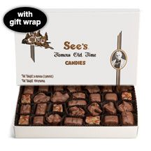 Milk Chocolate Nuts & Chews Candy | See's Candies