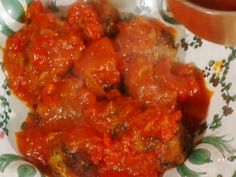 Meatless Meatballs: Polpette di Lupo (note: try replacing bread with mashed tofu)