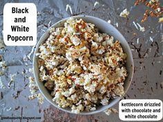 Black and White Popcorn (Copycat Recipe Popcorn Indiana)