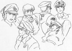 Living Lines Library: オン・ユア・マーク / On Your Mark (1995, Short) - Model Sheets & Storyboards