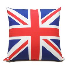 Union Jack Flag Cushion / Pillow Cover  16 40cm by alivehouse, $33.00
