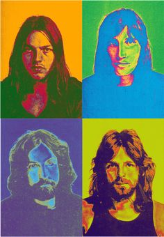 Band picture of Pink Floyd from their Meddle album (damn good album). The Pink Floyd John Bonham, David Gilmour, Axl Rose, Jimmy Page, Robert Plant, Led Zeppelin, Beatles, Musica Punk, Pink Floyd Art