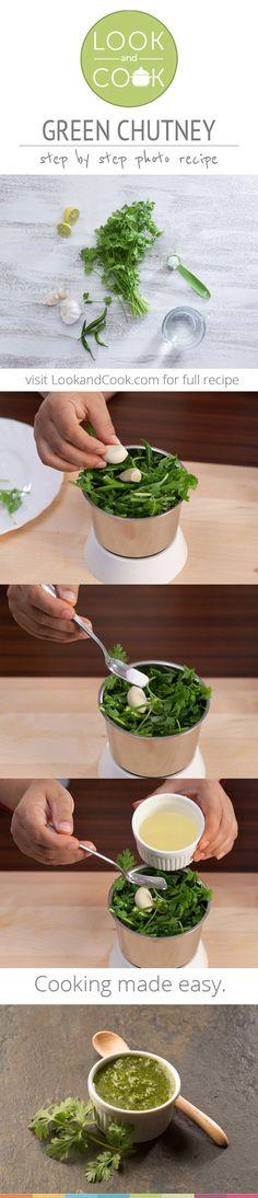 GREEN CORIANDER CHUTNEY RECIPE Green chutney(#LC14009):