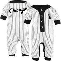 Chicago White Sox Infant White Pinstripe