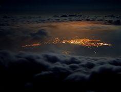 Night Poprad - Slovakia Bratislava, Capital City, Pin Up, Europe, Clouds, Celestial, Sunset, Night, Travel