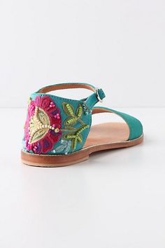 Seriously...How cute are these sandles from Anthropologie?