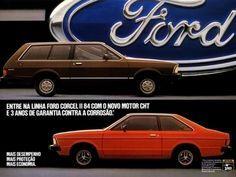 1984 Ford Corcel II & Belina - Brasil