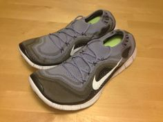 watch 7f4cc c0ea6 Nike FREE Flyknit+ 5.0 MEN S SIZ 8 - Iron Purple Black Grey 615805 510  Running  Nike  RunningCrossTraining