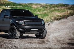 Matte black Ford Raptor on ADV.1's - Teamspeed.com