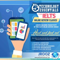5 Technology Essentials for IELTS Online Review Classes  Achieve maximum productivity in your IELTS online review course! Read and find out the technology essentials you need to secure before subscribing to an IELTS online review session. #JRoozIntl #IELTSOnlineReview #IELTSOnlinePreparation