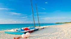 A member of Sunwing's popular Small & Friendly collection, the charming, all inclusive Club Karey Varadero Hotel is perfect for those looking for a more intimate travel experience. Varadero Cuba, Destinations, Turquoise Water, Tropical Paradise, Timeline Photos, Beach Day, Beautiful Beaches, Caribbean, Boat