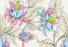 Create a Seamless Fantasy Floral Pattern in Adobe Photoshop