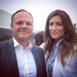 Pierre Desaint Directeur de France Bleu Normandie & Daphné Bruman Miss France 2016 à la soirée des communicants #Deauville2017pic.twitter.com/4nK2sxO8av