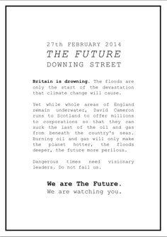 #thefuture #ukfloods #protests #climatechange