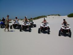 By far the most exciting thing on 4 wheels, Quad Biking Cape Town on the sand dunes is a rush like no other. Quad Bike, Adventure Tours, Cape Town, Biking, Dolores Park, Quad, Cycling, Adventure Travel, Bicycling