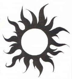 Tribal sun | Free tribal sun tattoo designs. Page 6 of 10. Image 72.