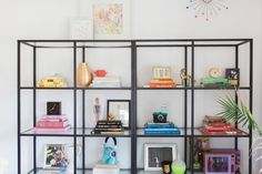 open shelving #home #decor #theevergirl