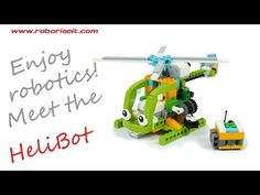 Meet the HeliBot! WeDo 2.0 robot - YouTube