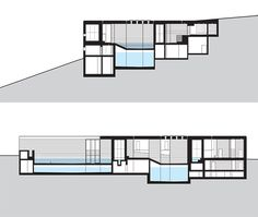 Thermal Baths in Vals, Switzerland by Peter Zumthor Architecture Concept Drawings, Architecture Design, Sustainable Architecture, Ancient Architecture, Garage House, Thermal Vals, Abu Dhabi, Serpentine Pavilion, Kolumba Museum