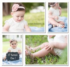 One year old girl on location portrait with KidPics Photography | North Miami Beach kids and family photography