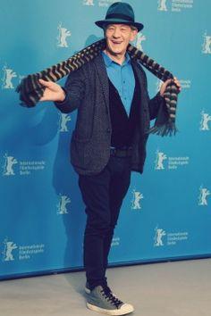 Ian McKellen presents 'Mr. Holmes' @ Berlinale International Film Festival (2/8/2015)