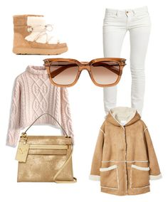 """Untitled #48"" by zeynepmelekc on Polyvore featuring Moncler, Chicwish, Replay, MANGO, Chloé and Valentino"