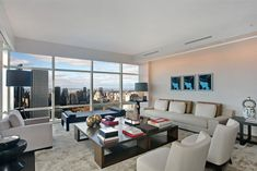 Luxury Collection 2014: 151 East 58th Street, Apt. 40E, Upper East Side, Manhattan, New York - learn more: http://www.corcoran.com/nyc/listings/display/2955314?utm_medium=Social&utm_source=Pinterest&utm_campaign=Property