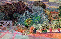 The Terrace - Pierre Bonnard - 1918 - Philips Collection Art Gallery, Washington DC